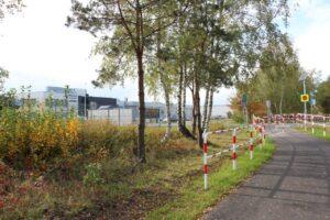 Ścieżka rowerowa w pobliżu parku technologicznego Interior.