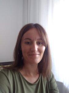 Uśmiechnięta Sylwia Mańczak