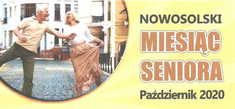 plakat nowosolski miesiąc seniora
