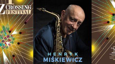 Na zdjęciu plakat zapraszający na koncert Henryk Miśkiewicz Quartet w Nowej Soli