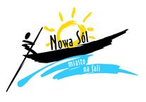 logo Nowej Soli - Miasta na fali