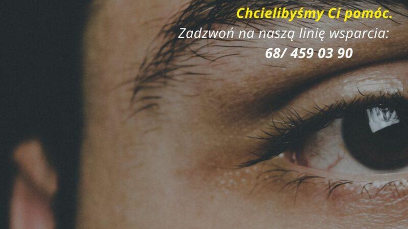 plakat wsparcia psychologicznego - numery telefonów